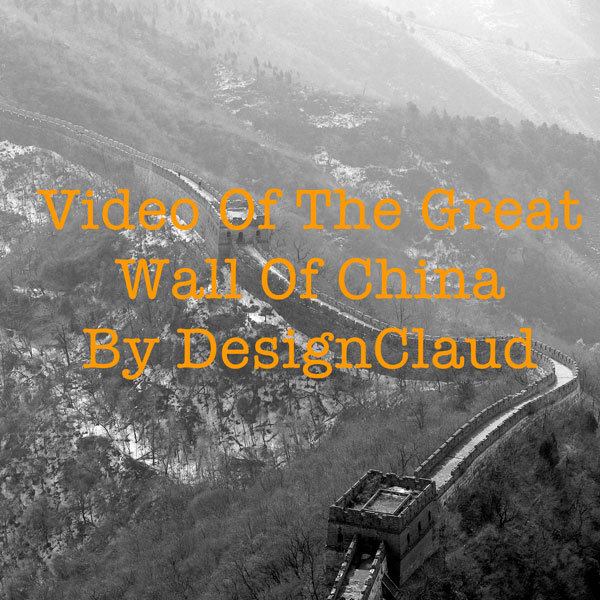 a Three Sixty; on the Great Wall of China