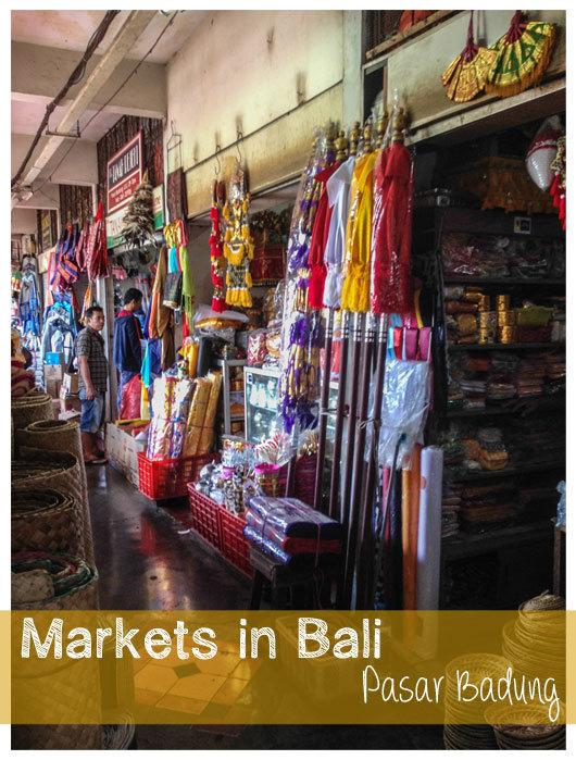 Markets in Bali {Design DIY Inspiration}