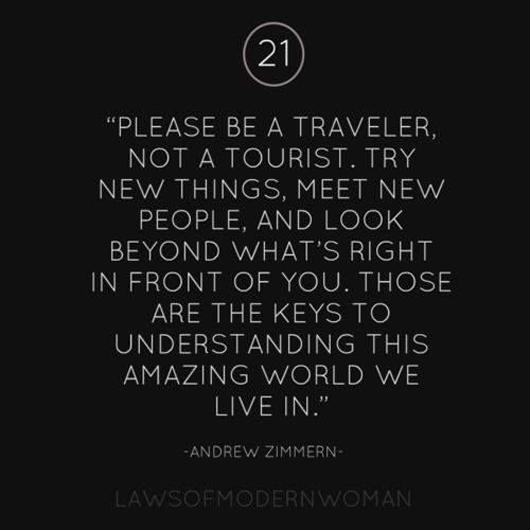 What's a long term traveler