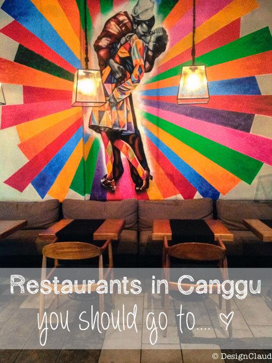 Restaurants in Canggu, Bali