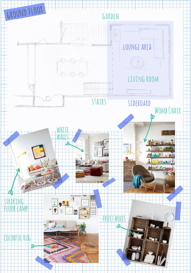 Living Room Inspiration | Our new home