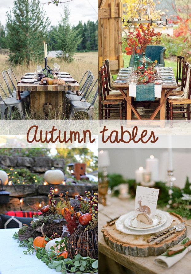 Autumn-tafels