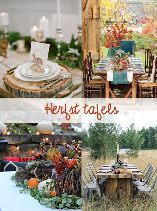 Herfst-tafels