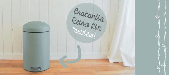 Review: Brabantia Retro Bin