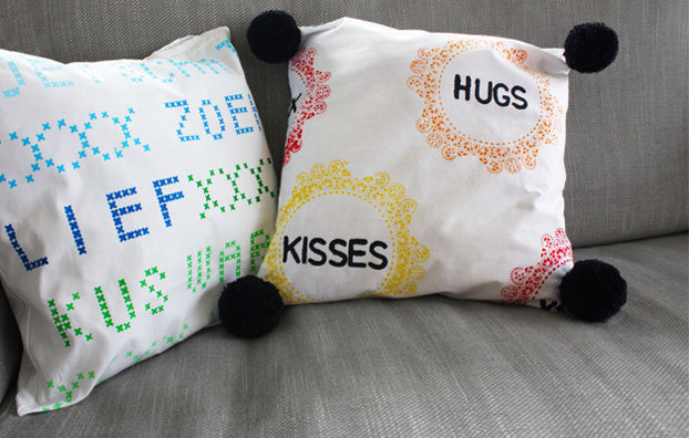 DIY package for Cushion Covers