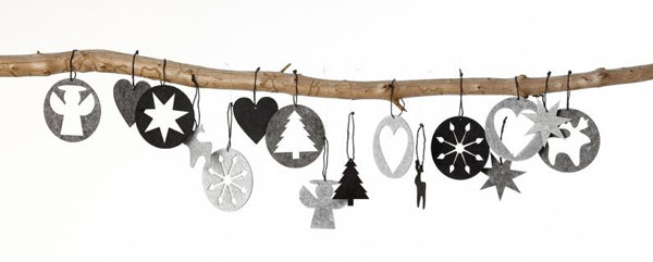 Black & White Holiday Accessories