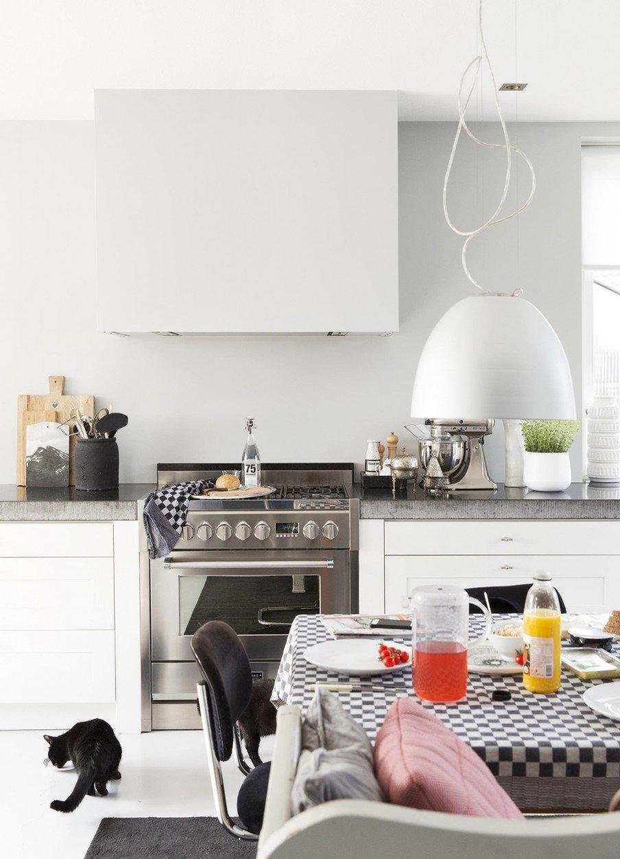 Vtwonen Keuken Inspiratie : Vtwonen Keuken 2015 : Mooie zwart witte keuken Interieur inrichting