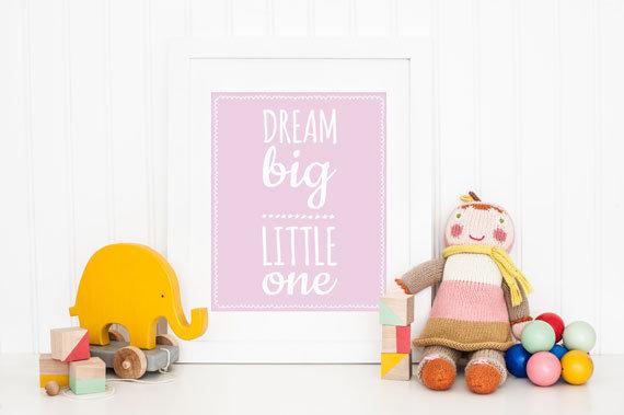 10 of my own Nursery Posters