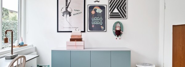 Danish Retro Kids Room Inspiration