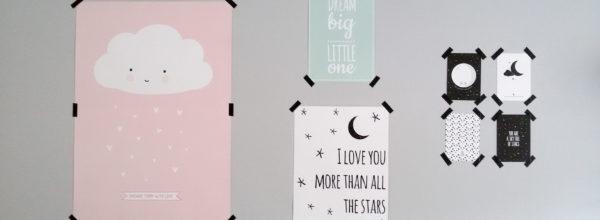 Nieuwe kinderkamer inspiratie + Posters