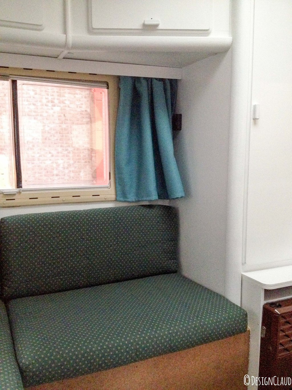 Camper window treatments - Here You See The Subfloor We Have Also Mounted Against The Benches This Was Also Carpeted In A Dirty Brown Color