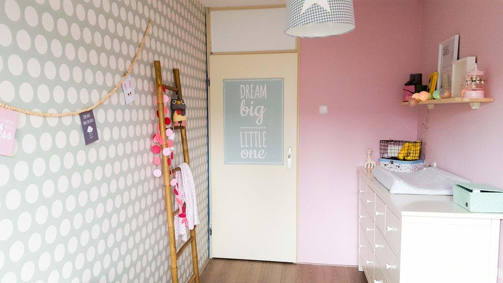 Zwart Witte Kinderkamers : Meisjeskamer poster kinderkamer poster zwart wit nursery