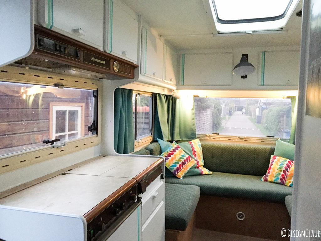 Het hymer camper avontuur designclaud for Interieur schilderen