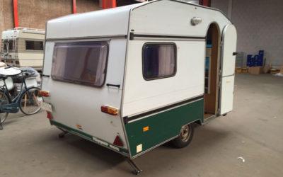 Experiment: Van camper naar caravan