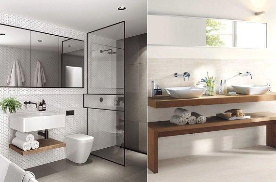 Verhuizen? Tijd voor een minimalistische badkamer - DesignClaud